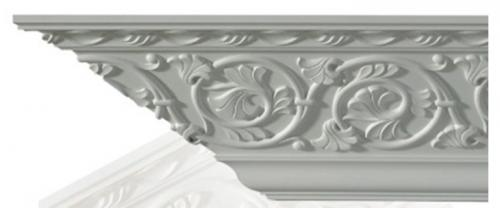 Cornice molding - CN-3081 - old fashioned style - classic interior - retro - vintage style