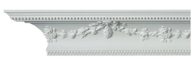 Taklist - CN-3089 - sekelskifte - gammaldags stil - klassisks inredning - retro