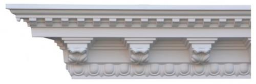 Cornice molding - CN-3120 - old fashioned style - classic interior - retro - vintage style