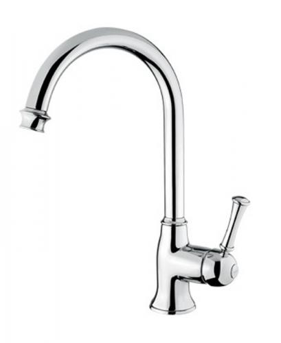 Kitchen mixer - Denver gooseneck chrome