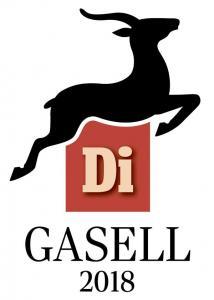 Gasell 2018 Logo - arvestykke - gammeldags dekor - klassisk stil - retro - sekelskifte