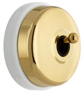 Dimmer Fontini - Brass toggle