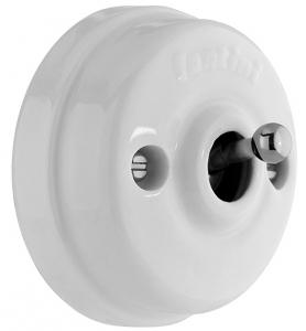 Intermediate Switch - Porcelain/chrome, surface mounted