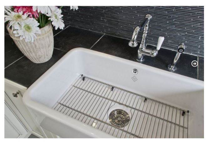Kitchen sink porcelain - Shaws Classic Double 800 - Old style