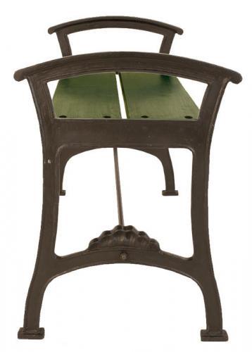 Bench - Djurgården 100 cm cast iron