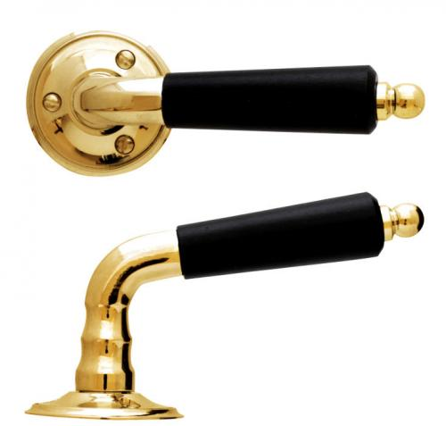 Door Handle - Låsbolaget 439 brass