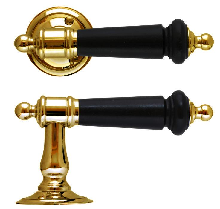 Door handle - Otto Meyer no. 9 brass