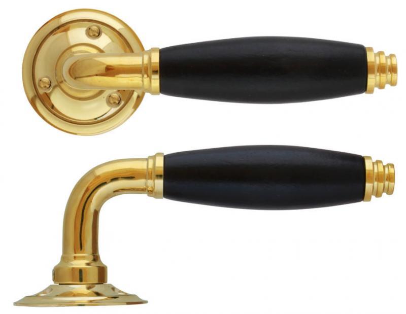 Door handle - Vasastan brass