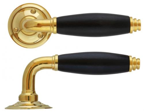 Door handle - Vasastan brass