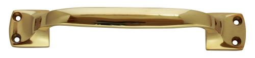 Pull handle - Brass 18 cm