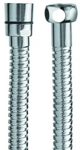 Duschslang krom 150 cm - Dubbellindad metall