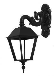 Utomhuslampa - Fasadlykta Ljushult L4 ned - sekelskifte - gammaldags inredning - retro
