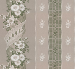 Wallpaper - Felicie Eleonore grey/green