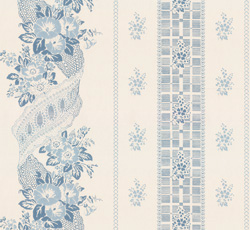 Wallpaper - Felicie Eleonore white/blue