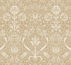 Wallpaper - Florian grey/beige