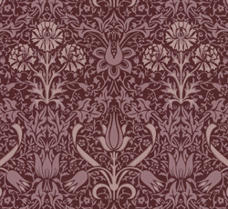 Wallpaper - Florian burgundy/purple