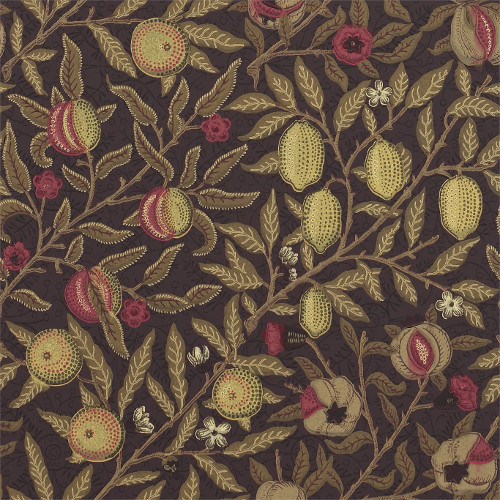 William Morris & Co. Wallpaper - Fruit Wine/Manilla - old fashioned style - retro - classic interior
