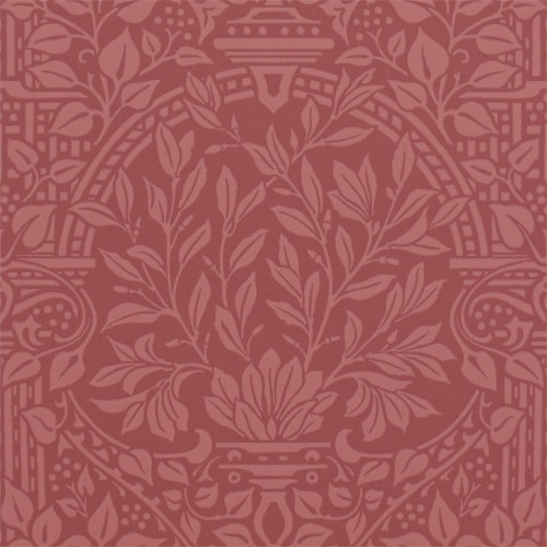 William Morris & Co. Tapet - Garden Craft Brick - sekelskifte - gammal stil - gammaldags inredning
