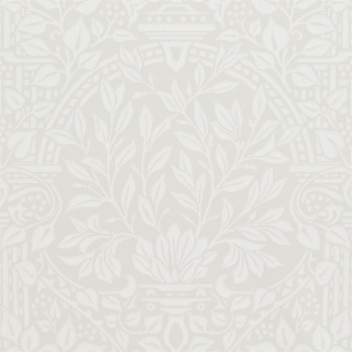 William Morris & Co. Wallpaper - Garden Craft Limestone - old style - vintage interior - retro - classic style