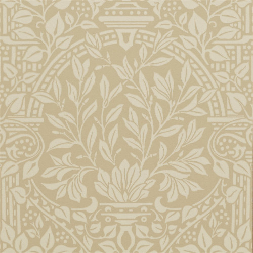 William Morris & Co. Wallpaper - Garden Craft Manilla - old style - vintage interior - retro - classic style