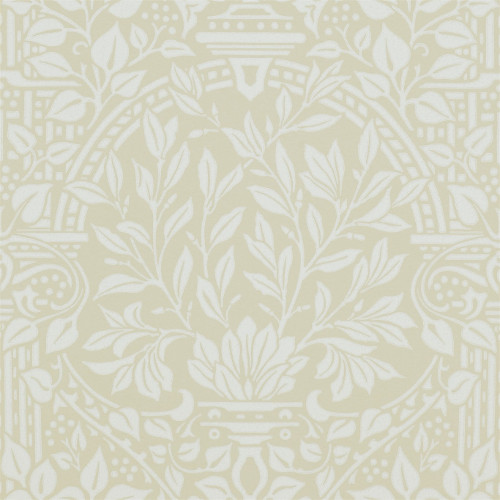 William Morris & Co. Wallpaper - Garden Craft Vellum - old style - vintage interior - retro - classic style
