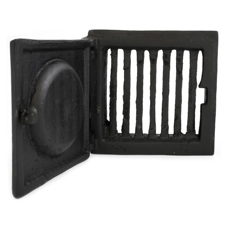 Cast iron open/close vent - Nbr 13 - old style - classic interior - retro - vintage style