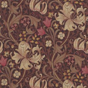 William Morris & Co. Wallpaper - Golden Lily Fig/Burnt Orange