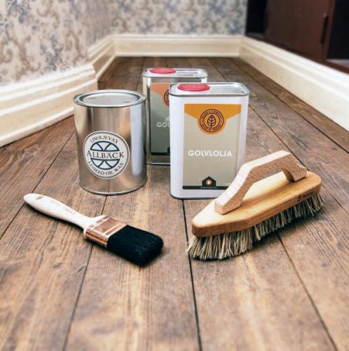 Tips & Fakta - Golvbehandling trägolv - sekelskifte - gammaldags inredning - retro - klassisk stil