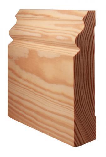 Floor trim - Jugend IV, 120 mm