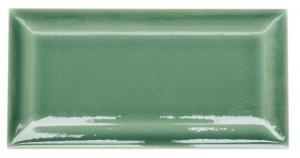 Wall tile Bristol - 7,5 x 15 cm dark green,