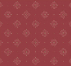 Wallpaper - Gunnebo slott red/light red/gold