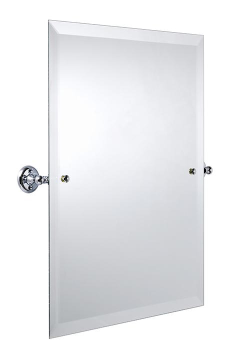 Bathroom Mirror - Haga Rectangular - Chrome 45 x 60 cm
