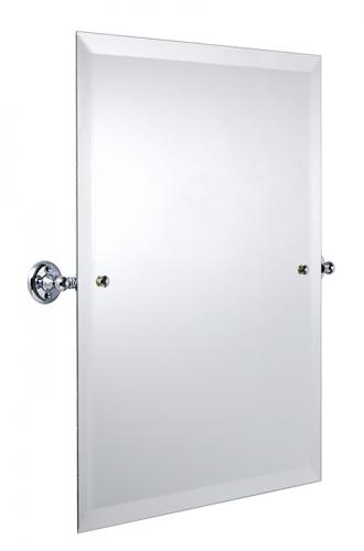 Bathroom Mirror - Haga Rectangular - Chrome 45 x 60 cm