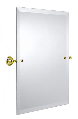 Bathroom Mirror - Burlington Rectangular - Brass 45 x 60 cm