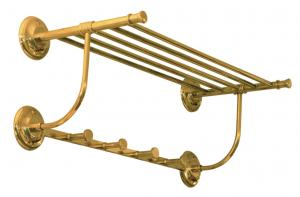 Towel shelf Brighton - Brass