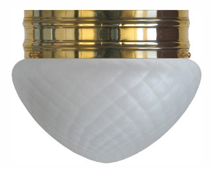 Bowl Lamp - Heidenstam 200 diamond patterned glass