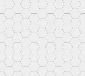 Hexagonklinker - 10x10 cm vit Winckelmans