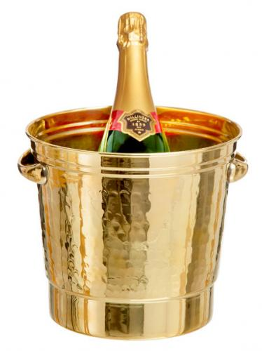 Champagne cooler - Brass 4 L