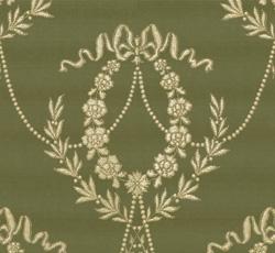 Wallpaper - Hovkonditoriet green/gold