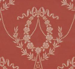 Wallpaper - Hovkonditoriet red/gold