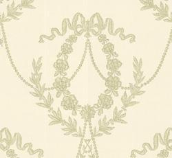 Wallpaper - Hovkonditoriet white/light green