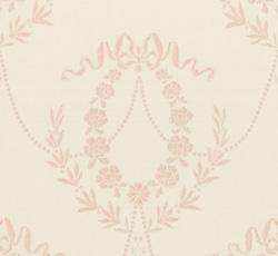 Wallpaper - Hovkonditoriet white/pink
