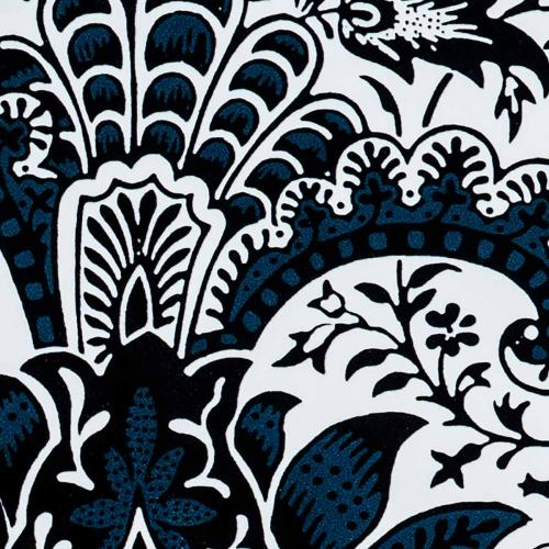 Serveringsbrett 43 x 33 cm - William Morris, Indian Indigo