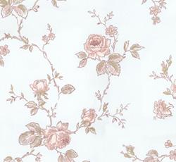 Wallpaper - Rosen blue/pink