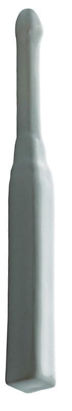 Tile Victoria - Corner for floor trim white, glossy