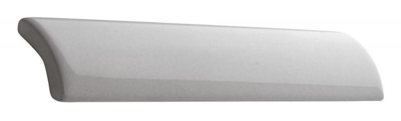 Tile Victoria - Edge tile trim 2.5 x 15 cm white, glossy