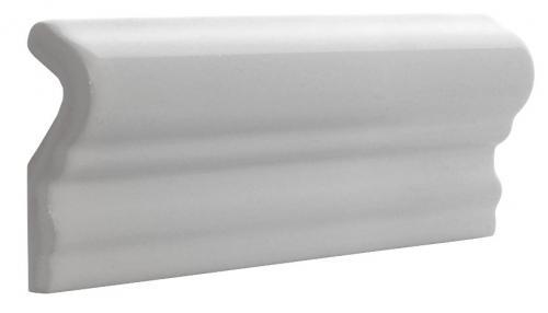 Kakel Victoria - Bröstlist 5 x 15 cm vit, blank