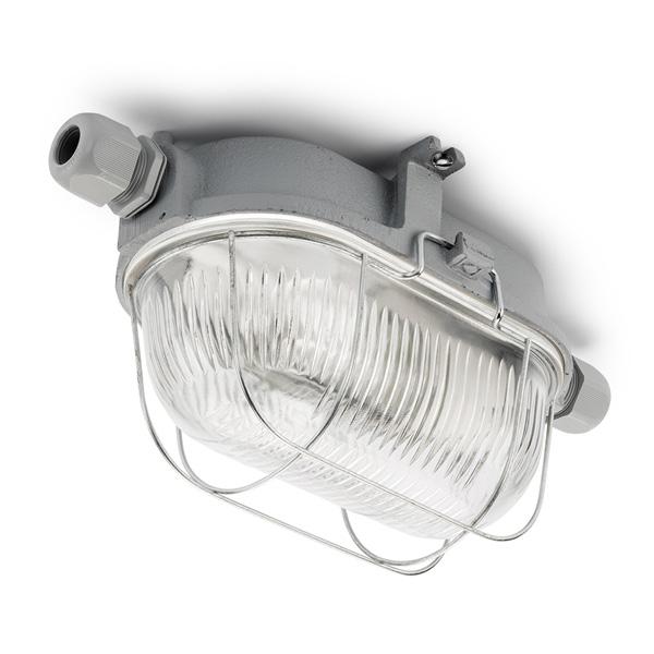 Cellar Lamp - Grey cast iron 100 W, IP54