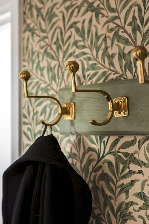 Coat Hook - Fehrlins 3255 (M) - old fashioned style - classic interior - retro - vintage style