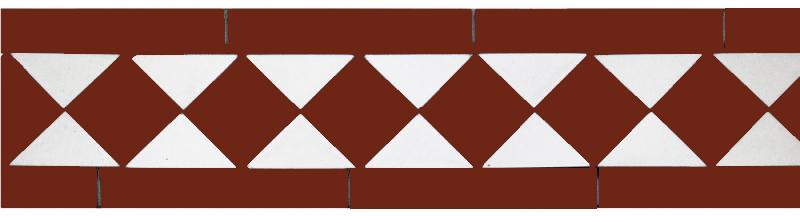 Klinkerfris - Winckelmans klassisk röd/vit